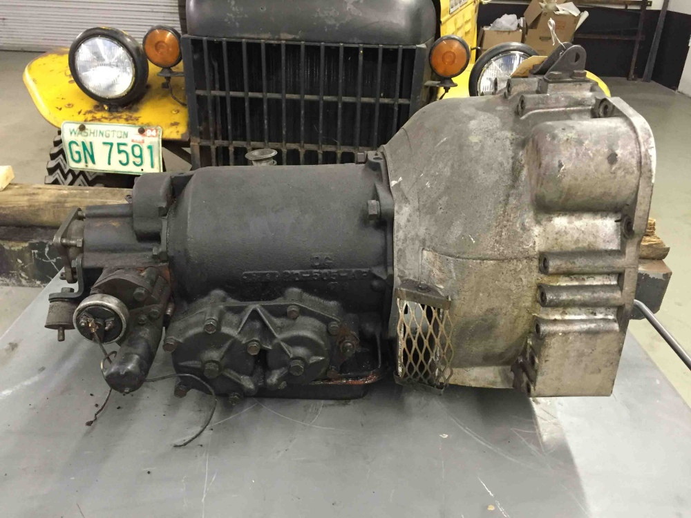 Borg Warner Dg 250 Mj Automatic Transmission Detroit Gear