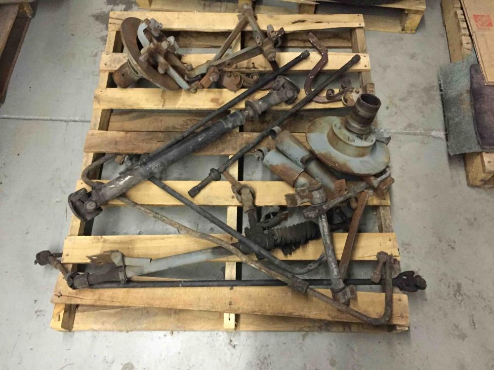 Jaguar XKE E Type E Type 3.8 4.2 Series 1 Front Suspension Parts Lot