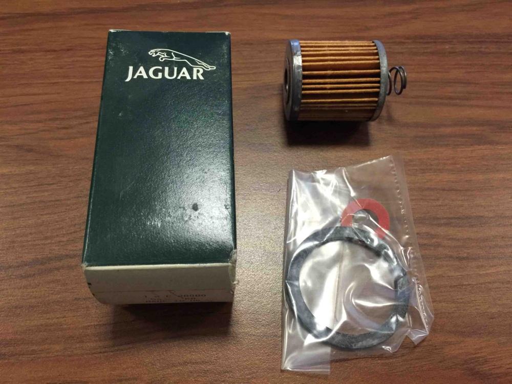 Jaguar Xke E Type Mk2 Fuel Filter Fits Glass Bowl C28080 Nos For