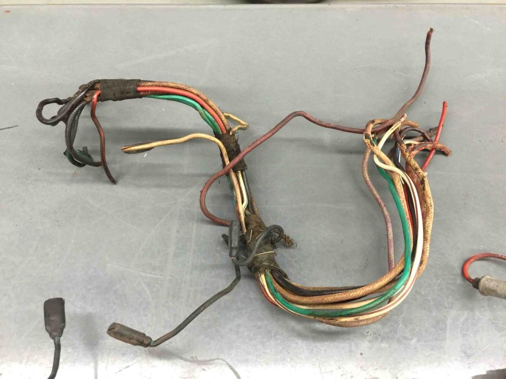 jaguar xke e type wiring harness center dash console. Black Bedroom Furniture Sets. Home Design Ideas