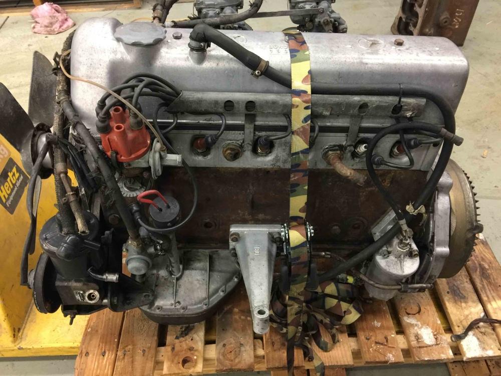 Mercedes Benz M180 M 180 220s W180 Engine Weber Carbs Bosch Zundfolge 153624 For Sale Seattle Wa