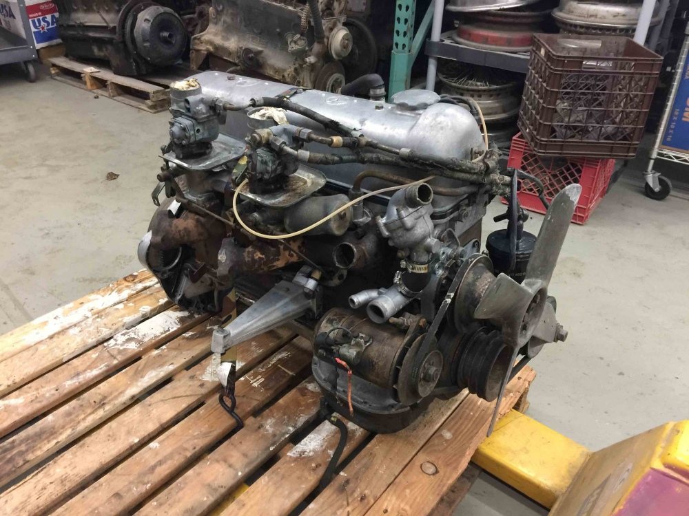 Mercedes benz m180 m 180 220s w180 engine weber carbs for Mercedes benz parts in seattle
