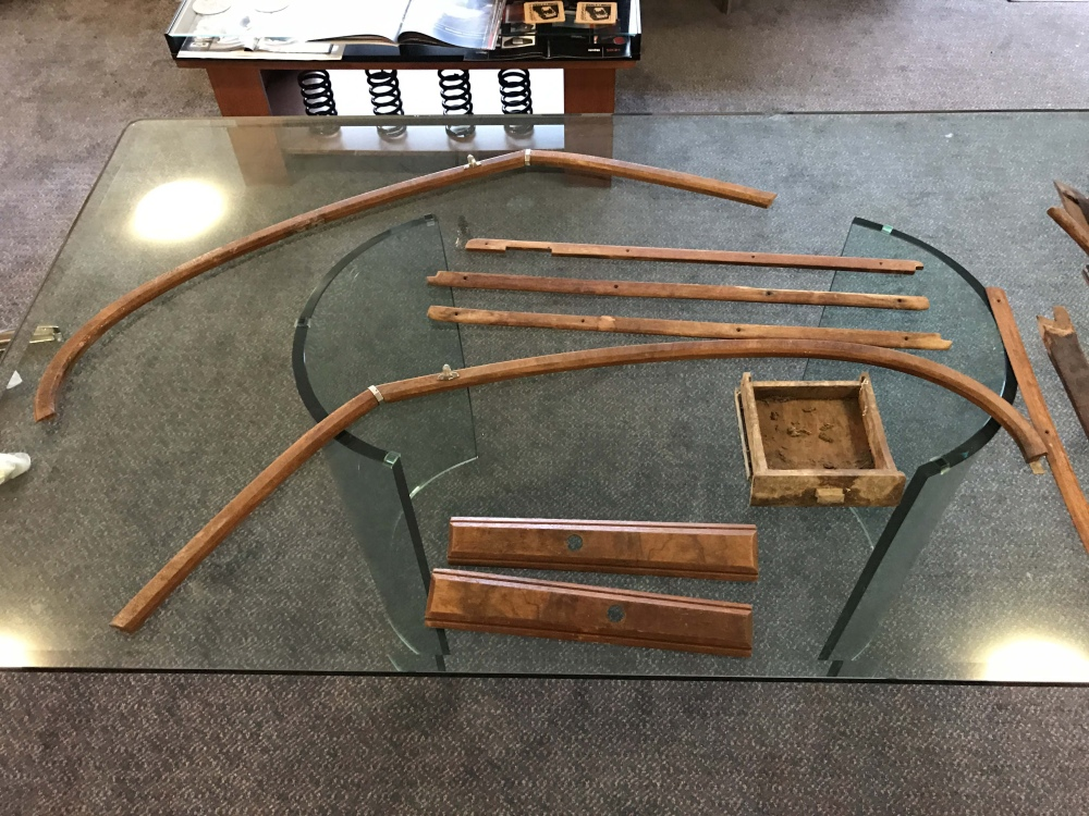 Jaguar Xk120 Xk 120 Wood Trim Interior Wood Pieces Lot