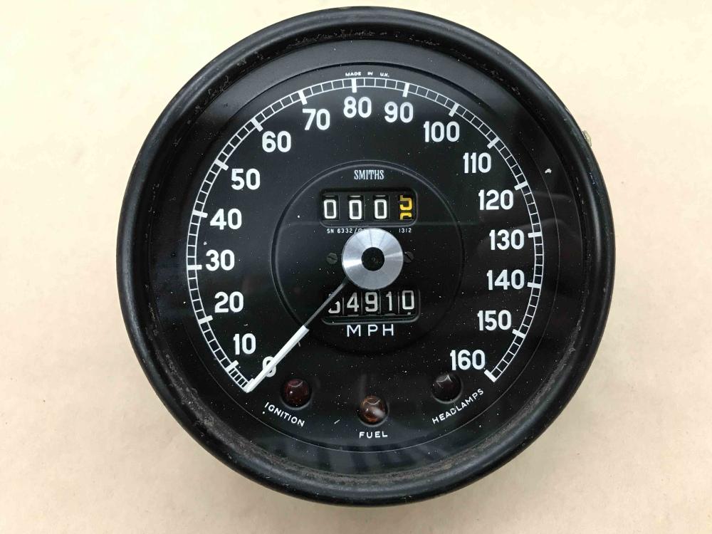 Jaguar E Type >> Jaguar XKE E Type SMITHS Speedometer Speedo MPH Gauge SN 6332 01 Instrument - For Sale, Seattle WA