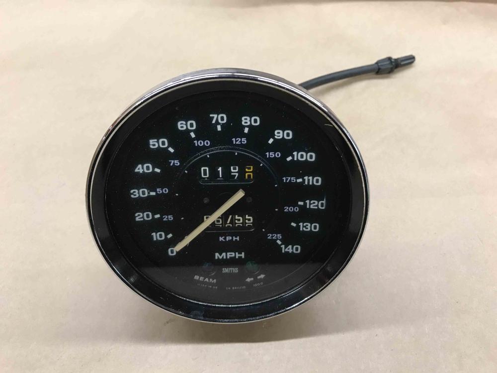 Triumph TR6 SMITHS Speedometer Speedo MPH Gauge SN 6411 10