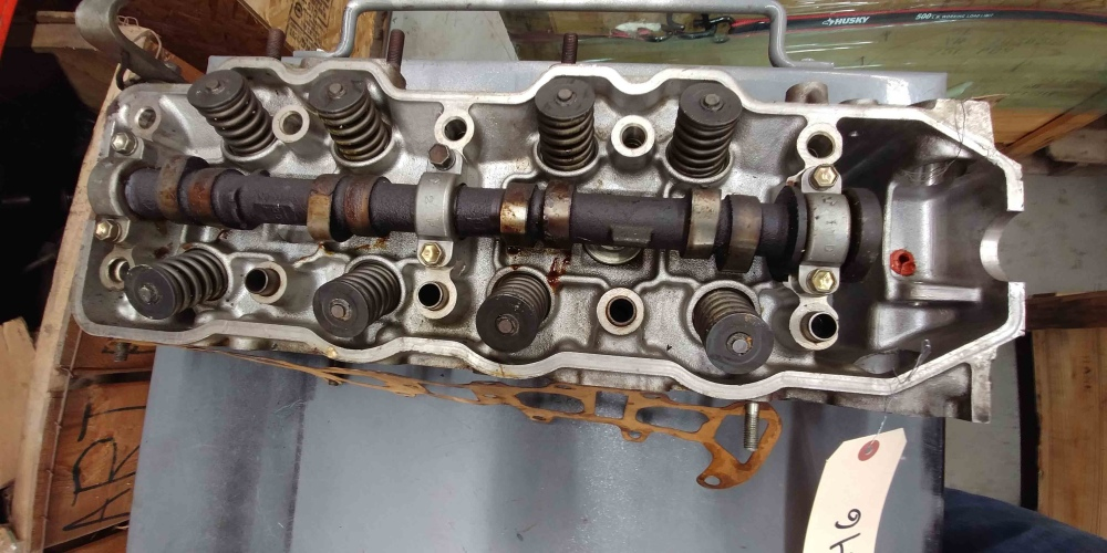 Toyota 22rec motor cylinder head rebuilt 4 cylinder 22r for 22r toyota motor for sale